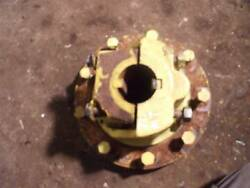 John Deere Mt Tractor Jd Rear Axle Hub And Mounting Wedge Block W/ Bolts And Studs