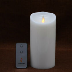 Luminara Battery Operated Led Candles Vanilla White with Remote for Wedding 7#x27;#x27;