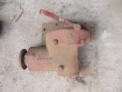 Farmall Sm Super M Tractor Ih Ihc Belt Pulley Drive Assembly + Rare Hard To Find
