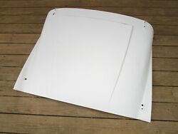 Reconditioned Oem Later Bonnet Assembly Triumph Tr3a With Raised Plinthe Hinges