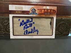 National Treasures Autograph Hof Fifty Years Steelers Bill Dudley 15/23 2013