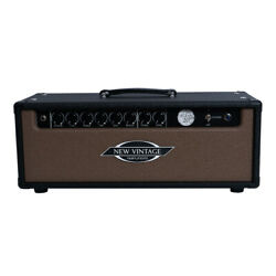 New Vintage Amps Aegean 20 Guitar Amp Head 20w Rough Black And Rough Brown