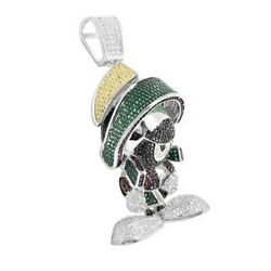 Lucky Girl Style Kids Gift Latest Design Toy Cute Doll Pendant Solid 925 Silver
