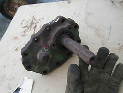 1937 Unstyled John Deere B Tractor Rear Pto Power Take Off Shaft With Housing