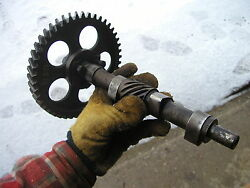 1938 Unstyled John Deere B Tractor Jd Engine Motor Camshaft And Cam Gear