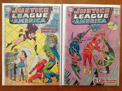 Justice League Of America 23 And 27 Comic Books Dc 1st Series Gd+andnbsp
