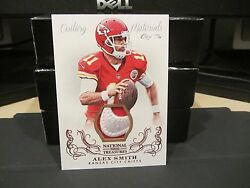 National Treasures Materials Nike Swoosh Jersey Chiefs Alex Smith 1/1 2013