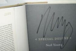 Neil Young Signed Memoir Of Life And Cars Book Crazy Horse Rock Autograph Proof