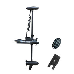 Haswing Black 12v 55lbs 54 Bow Mount Trolling Motor And Quick Release Bracket