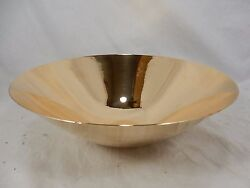 Rare Hand Spun Moma American Modernism Bronze Bowl By Ronald Hayes Pearson