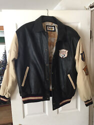 Vintage Disney Leather Jacket XL 2000 limited edition $1700.00