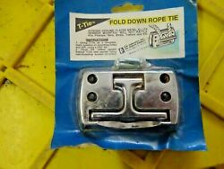 T-tie Hook Tie Down Rope Kit Anchor Point Boat Truck Trailer 3.75 X 2.25