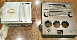 2004-2007 Nissan Titan RDS CD AUX Radio Player & Climate Control Panel Complete