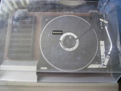 Vintage Rare Sanyo Jxt 55 Am / Fm 33 / 45 Turntable And Cassette Everything Works