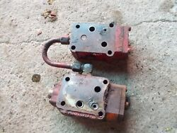 Farmall 300 350 400 450 Tractor Ih Hyd Control Valves And Tu Behlin Power Steering