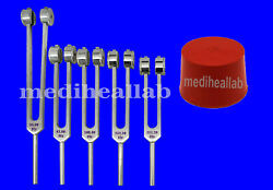 5 Pc Set Psychic Weighted Tuning Fork Set For Psychic Abilities Of Brain Tuner