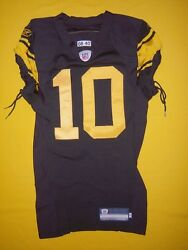 Pittsburgh Steelers 2008 Santonio Holmes 1960s Throwback Team Issued Game Jersey