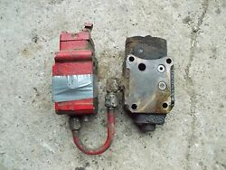 Farmall 300 350 400 450 Tractor Ih Hyd Control Valves And Jt Behlin Power Steering