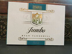National Treasures Autograph Jersey Booklet Dolphins Ryan Tannehill 23/25 2013