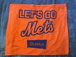 Set Of Two Lets Go Mets Rally Towels Sga 4/9/17