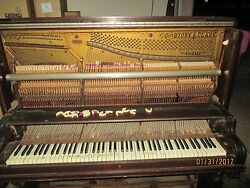 1901 Story And Clark Pianos Must See All Original Memphis Tennessee Wow