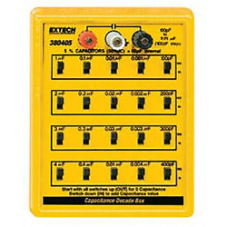 Extech 380405 Capacitance Substitution/decade Box Rated To 50vdc