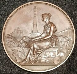 1893 Dundee And District Association Mechanical Civil Engineering Coin Medal