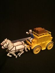 Rare Vintage Kohler Made In Germany Friction Stagecoach Model Toy Cb14