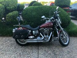 2007 Dyna -- 2007 Harley-Davidson FXDL Dyna Low Rider  11235 Miles Red  0 Manual