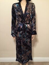 House Of Harlow 1960 X Revolve Silk/rayon Robe Size S Nwt Ret 298 Sold Out