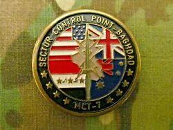 Rare Mct-7 Mobile Collection Team Sector Control Point Challenge Coin