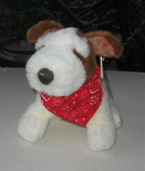 JACK RUSSELL TERRIER SITTING PLUSH SITTING DOG  GOLDEN PLUSHNCOLLECTION