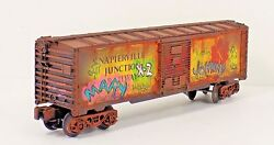 O Gauge Lionel Box Car Custom Grafetti Collectible Gift Toy Train Freight Cars