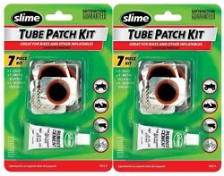 Slime 1022-a Tube Patch Kit Great For Bikes And Inflatables, 2 Pack