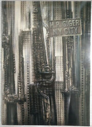 H.r. Giger - N.y. City / New York City 1981 - 1ere Edition By Alienand039s Designer
