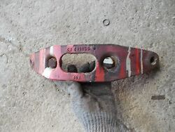 Farmall 450 400 Tractor Orgnal Ih Ihc Front Pedestal Cultivator Mounting Bracket