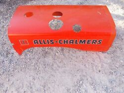 Allis Chalmers C Tractor Ac Real Nice Hood Cover Over Engine Kk