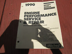 1990 Mitchell Auto Repair Manuals - All Import - Engine Performance And Repair