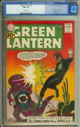 Green Lantern 8 Cgc 9.2 White Pages // Grey Tone Cover