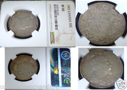 1902 Canada 50 Fifty Cents , Ngc Certified Xf45