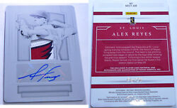 ALEX REYES (ST LOUIS)  baseball card  11 - ONLY ONE OF THIS DESIGN EXISTS