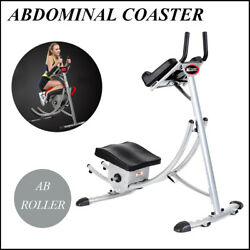 Ab Coaster Exercise Machine 6 Abs Abdominal Crunch Muscle Yoga Equipment NEW