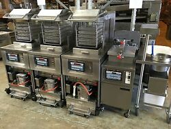 Henny Penny - 8 Head -electric Chicken Fryer - With Basket Cage And Trays