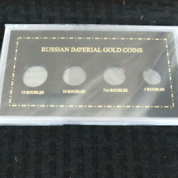 Capital Plastics Coin Holder 4x7 Russian Imperial Gold Coins Holder
