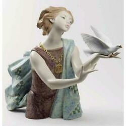 Lladro Allegory To The Peace 60th Anniversary Edition Figurine 01008684