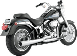 Vance And Hines Pro Pipe 4.5andrdquo 2-into-1 Chrome Exhaust 1986-2011 Softail 17547