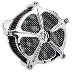 Roland Sands Venturi Chrome Speed 5 Air Cleaner For V-twin 0206-2000-ch