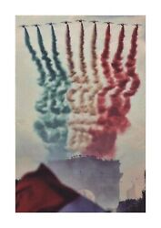 Patrouille De France French Aerobatic Team A4 Picture Poster. Choice Of Frame.