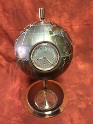 Vintage Rare Angelus Globe Weather Station With Five Instruments