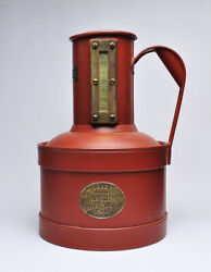 Antique Dover Field Test 1 Gal Measuring Can Gas Oil Service Station, Early 1900